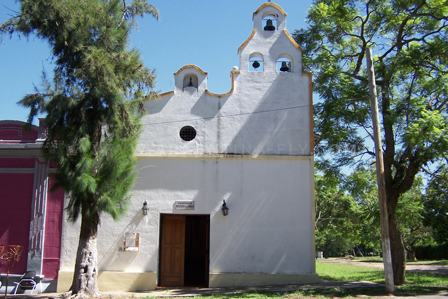 Church Martín García island